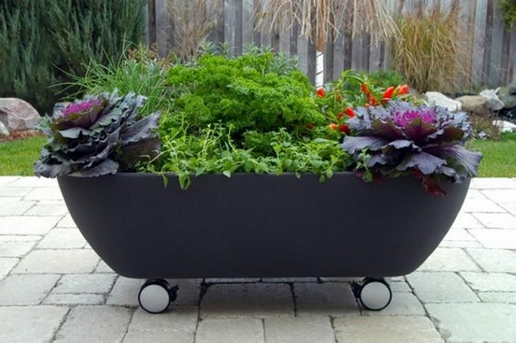 Old Bathtub Planter