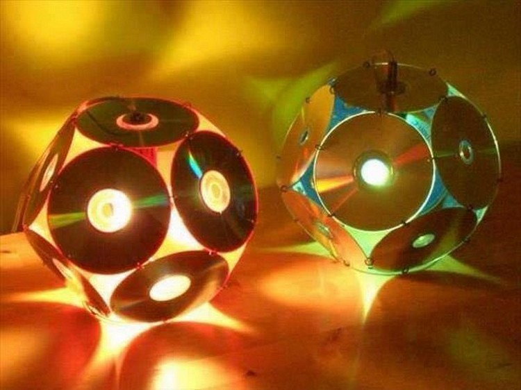Old CDs Recycling