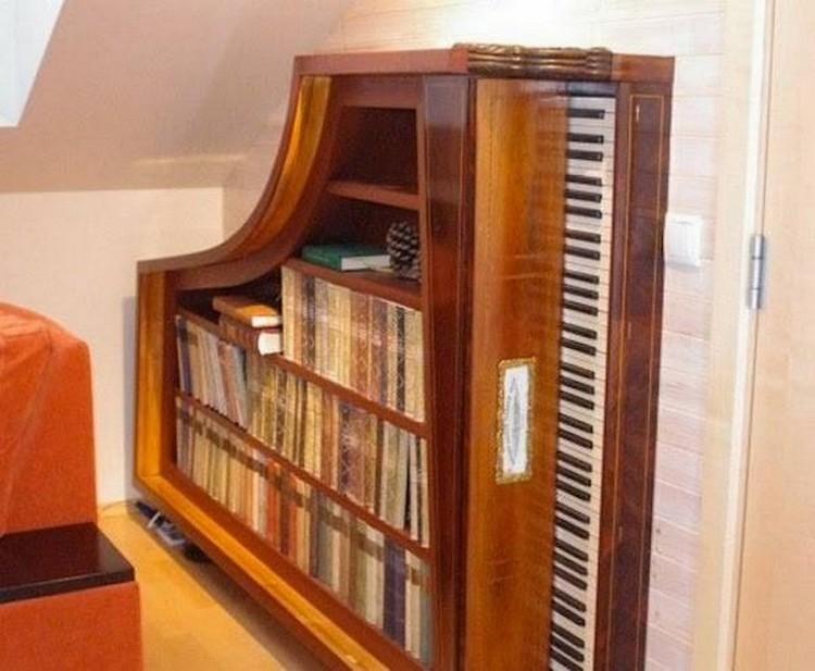Old Piano Repurposed