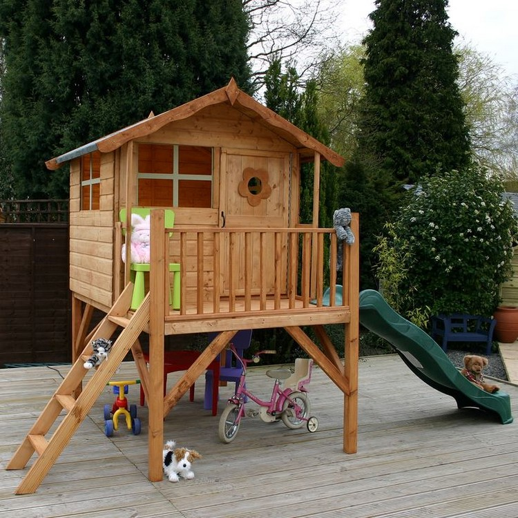 Wood Pallet Playhouses for Kids | Recycled Things