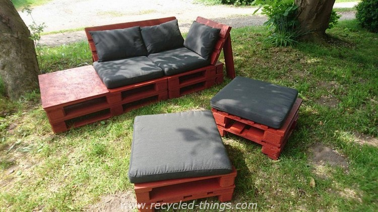 Pallet Patio Garden Furniture