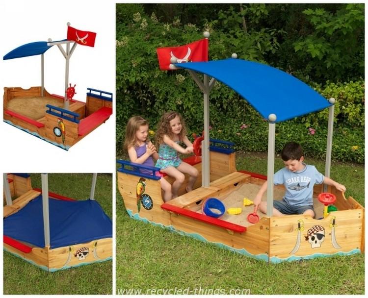 Pallet Pirate Sandboat
