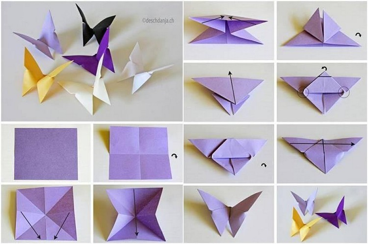 Easy Paper Folding Crafts Recycled Things