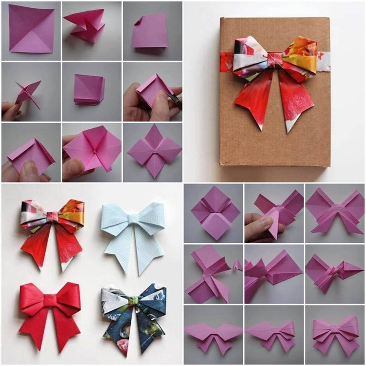 Easy Paper Folding Crafts Recycled Crafts
