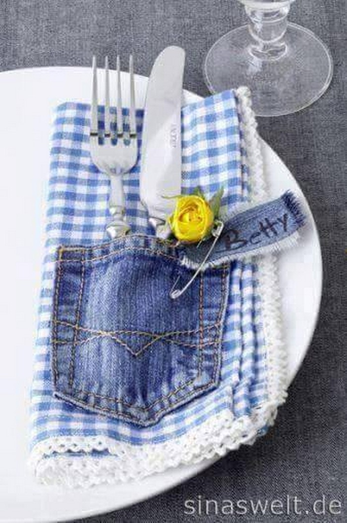 Recycled Denim Ideas