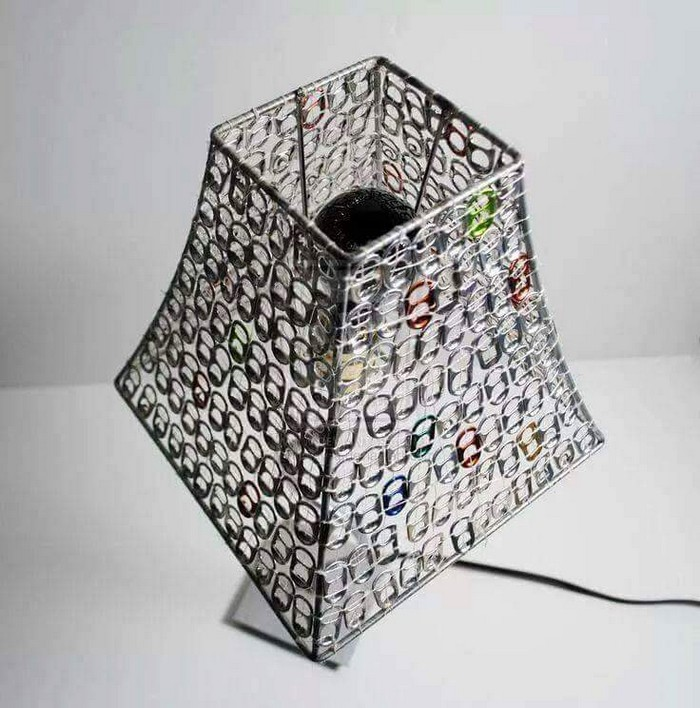 Soda Tab Lamp