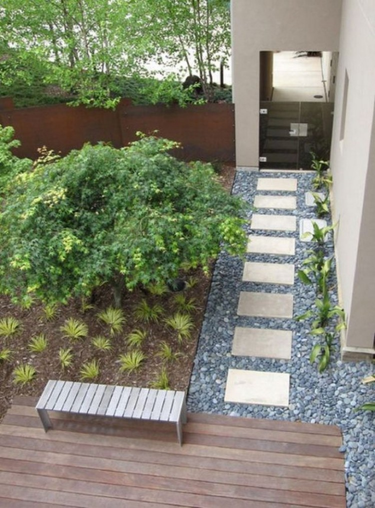 Stones Garden Pathway