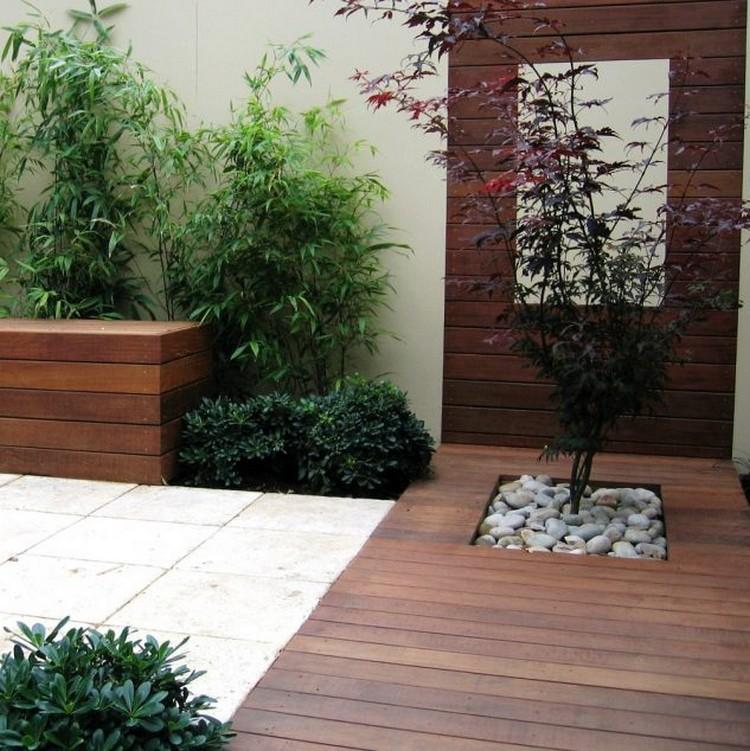 Wooden Floor Planters