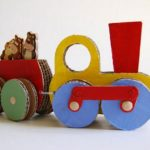 Cardboard Recycled Kids Toys