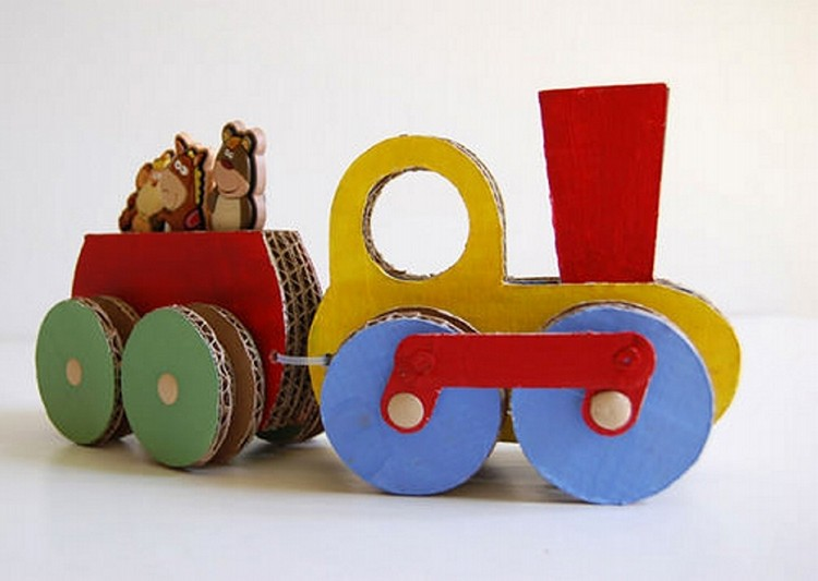 Cardboard Recycled Toy