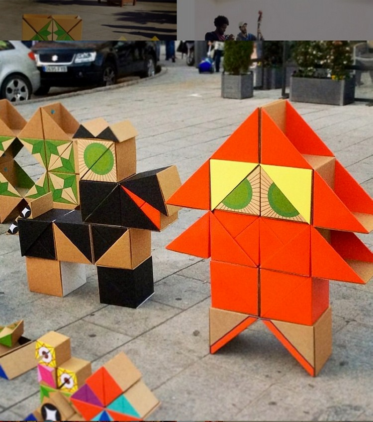 Cardboard Toys for Outdoor