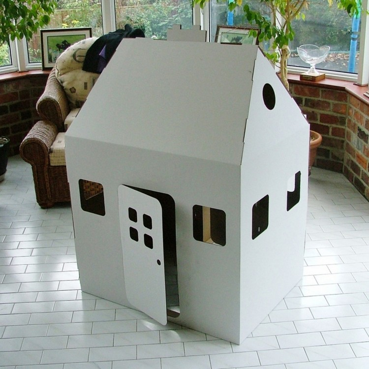 Cardbord Kids Playhouse