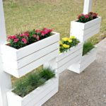 Cute Pallet Planter Boxes