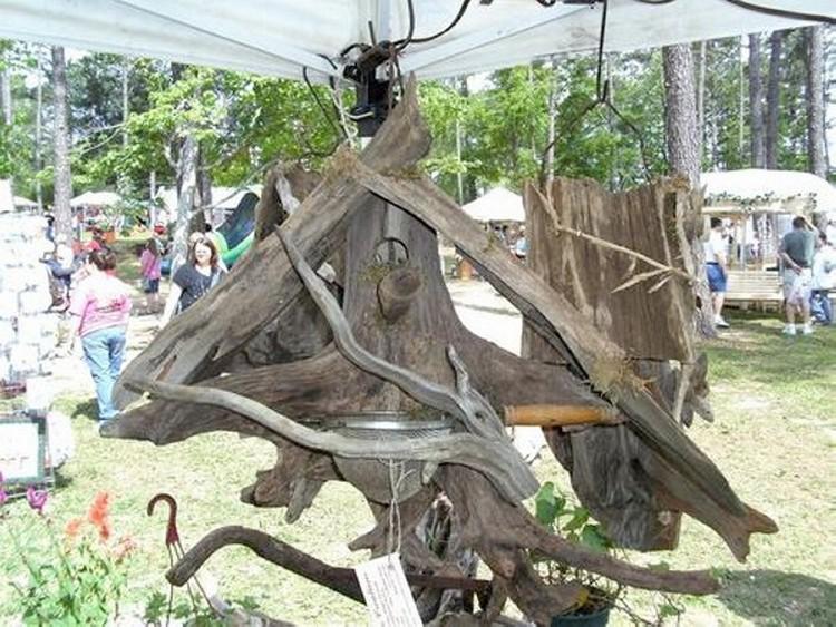 Driftwood Bird Feeder