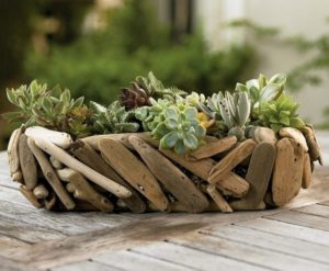 Driftwood Yard Art