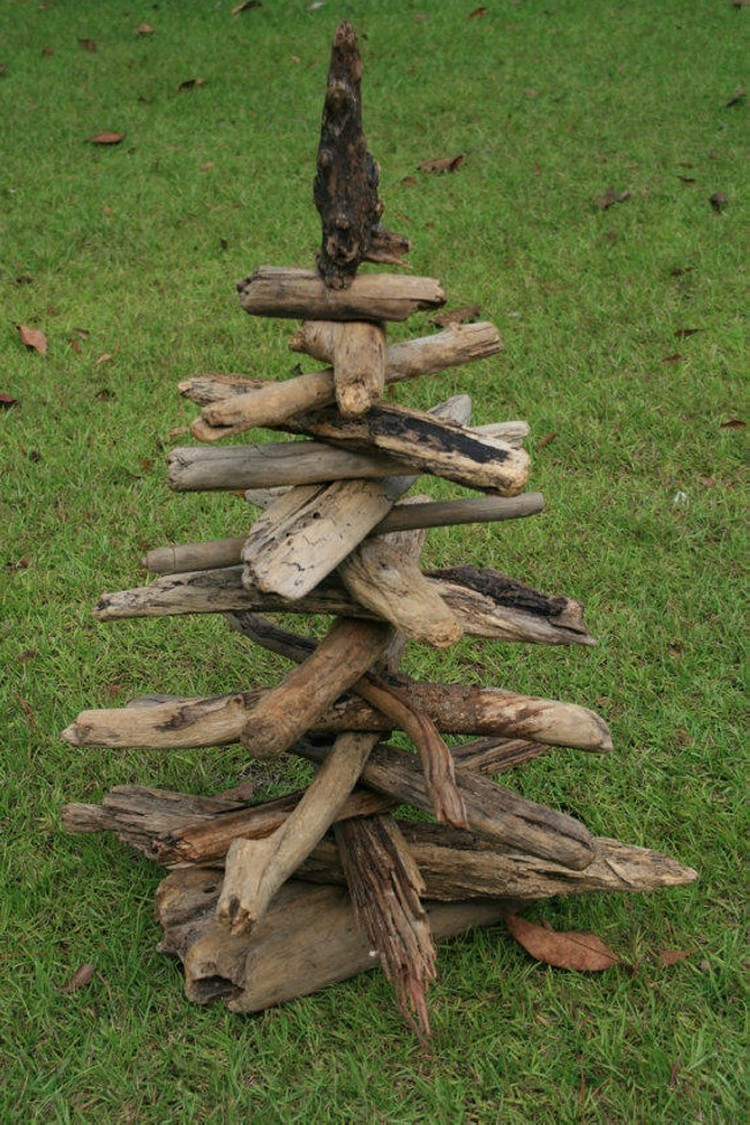 driftwood yard art recycled things