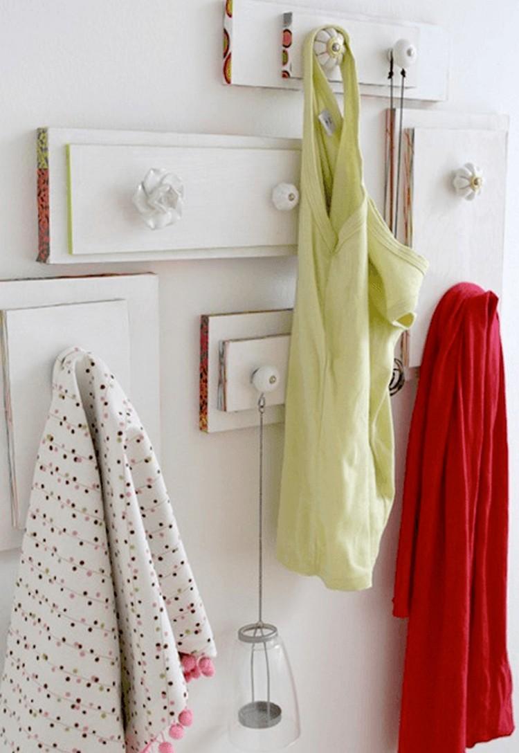 Old Drawers Coat Hangers