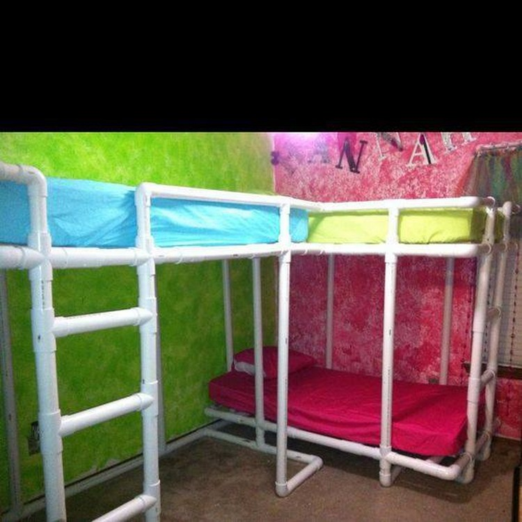 PVC Pipe Loft Beds & Easy PVC Pipe Projects Anyone Can Make | Recycled Things