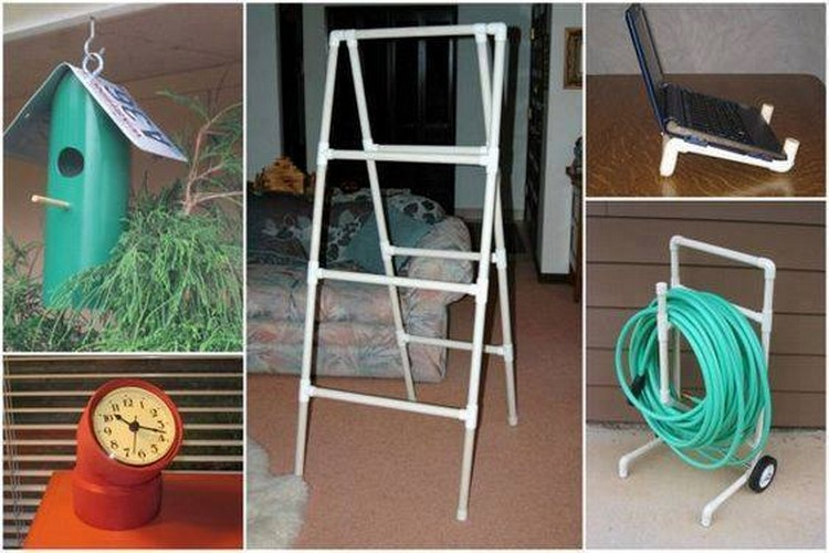 Easy pvc pipe projects anyone can make recycled things for Homemade recycling projects
