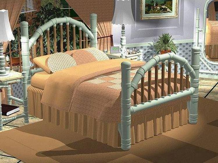 PVC Pipes Bed Idea