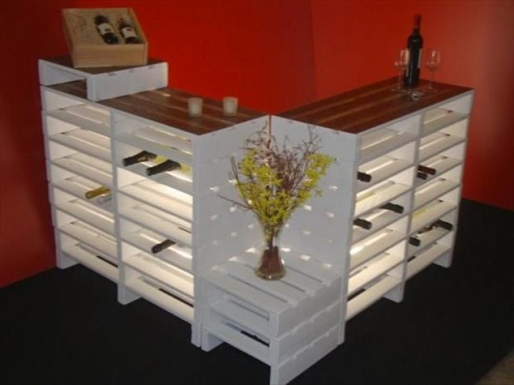 Prepare amazing projects from wooden pallets recycled things for Things to do with pallets
