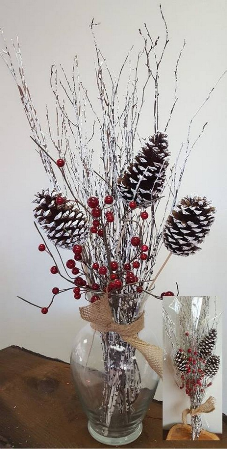 Pine Cone Decoration Idea