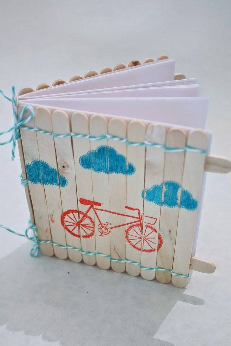 Popsicle Sticks Diary