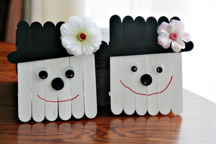 Popsicle Sticks Kids Crafts