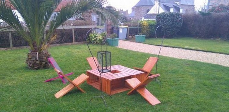 wood pallet garden furniture - Garden Furniture Wooden Pallets