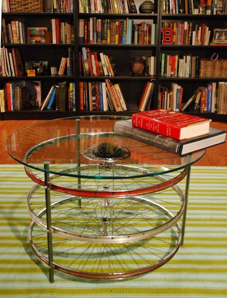 Bicycle Wheels Table