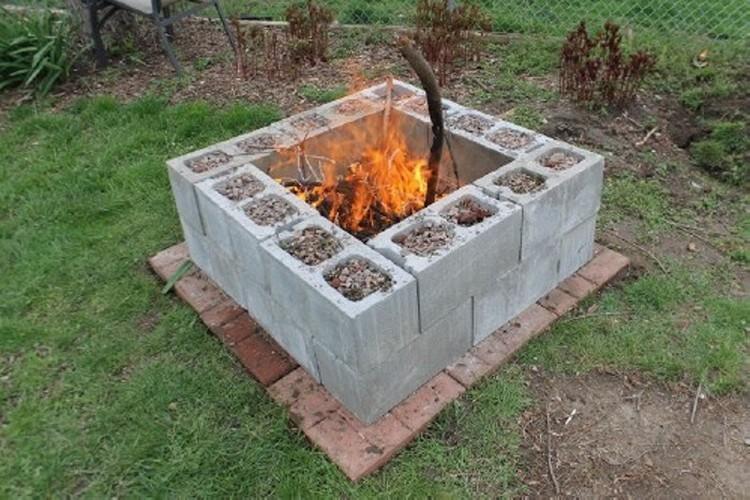 Cinder Blocks Firebit