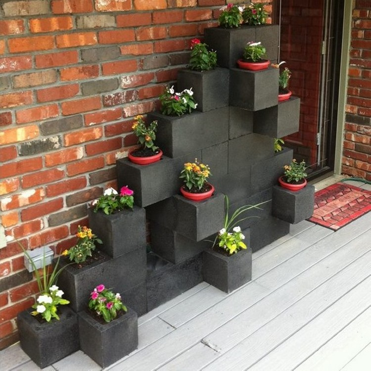 surprising ways to use cinder blocks recycled things