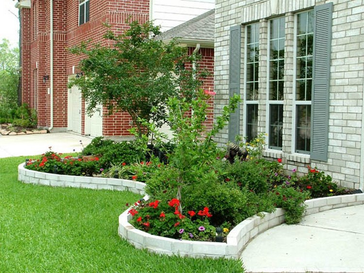 Easy Flower Bed Ideas