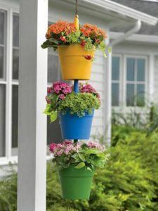 Knickknack Ideas for Hanging Plants