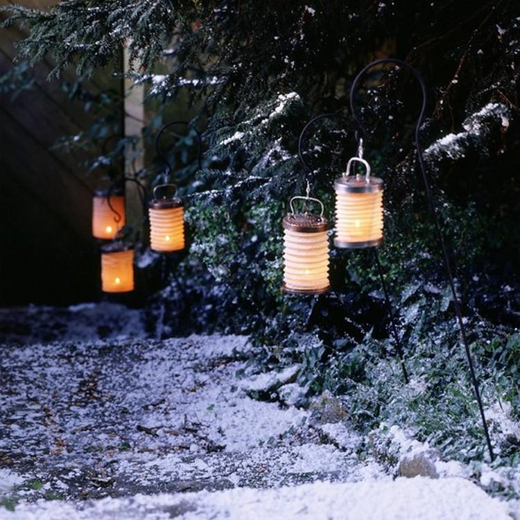 Illuminate Garden with Paper Lanterns
