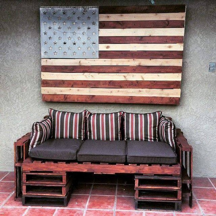 Pallet Furniture and Wall Art