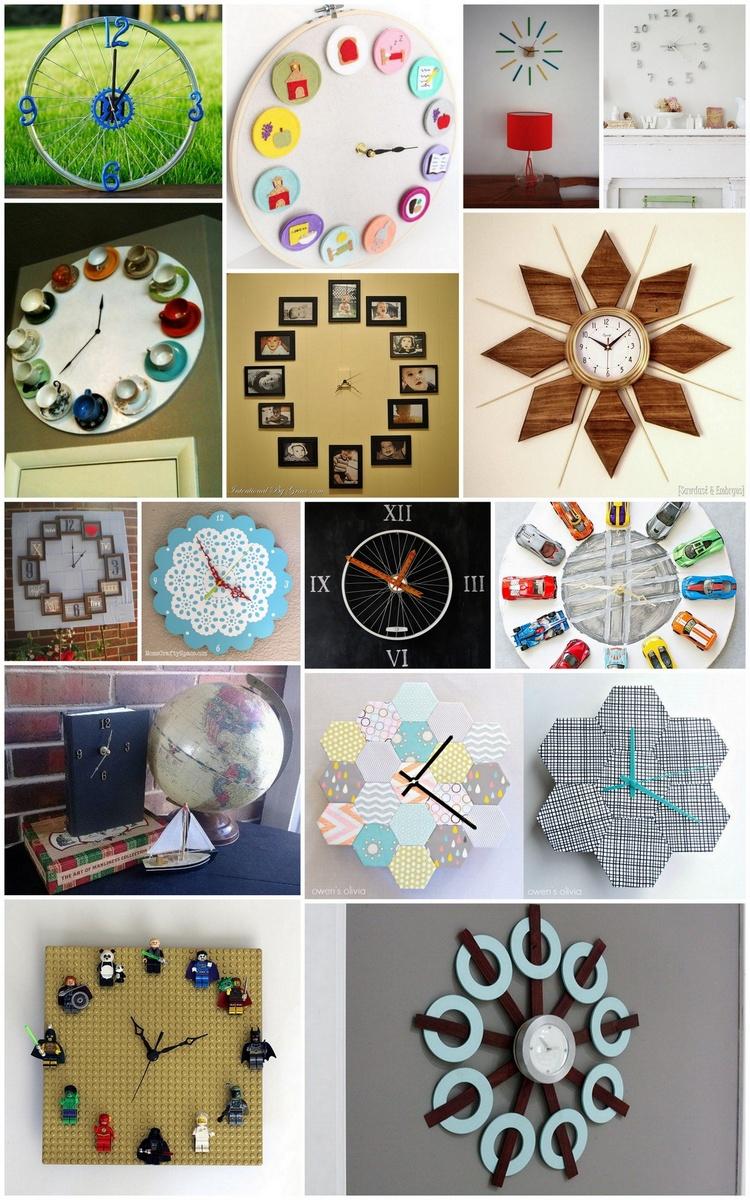 20+ Ingenious DIY Clock Project Ideas
