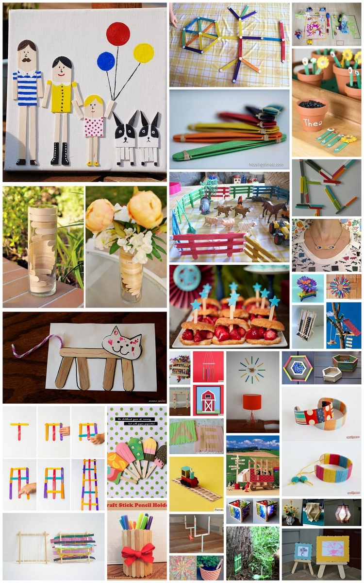 35 Creative Things to Make with Popsicle Sticks