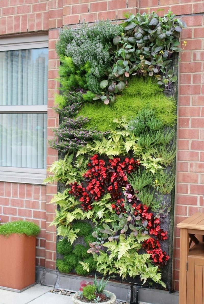 Beautiful Vertical Garden Wall