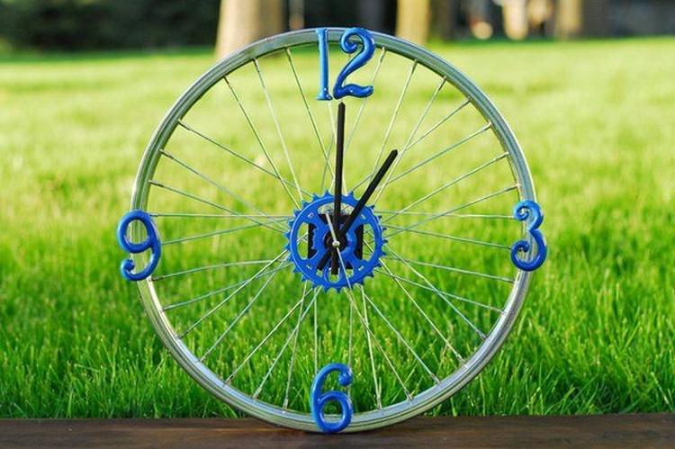 Bicycle Rim Clock