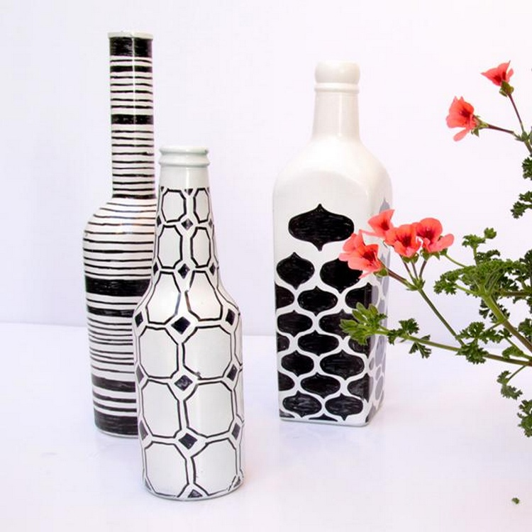 Awesome recycled glass bottle projects to make recycled - How to recycle glass bottles ...