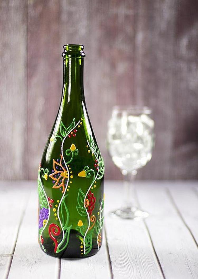 Awesome recycled glass bottle projects to make recycled for Making glasses from bottles