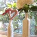 Glass Bottle Vintage Vase