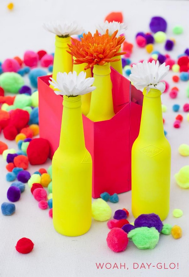 Awesome recycled glass bottle projects to make recycled for Projects with glass