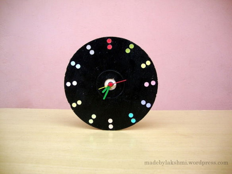Old CD Wall Clock
