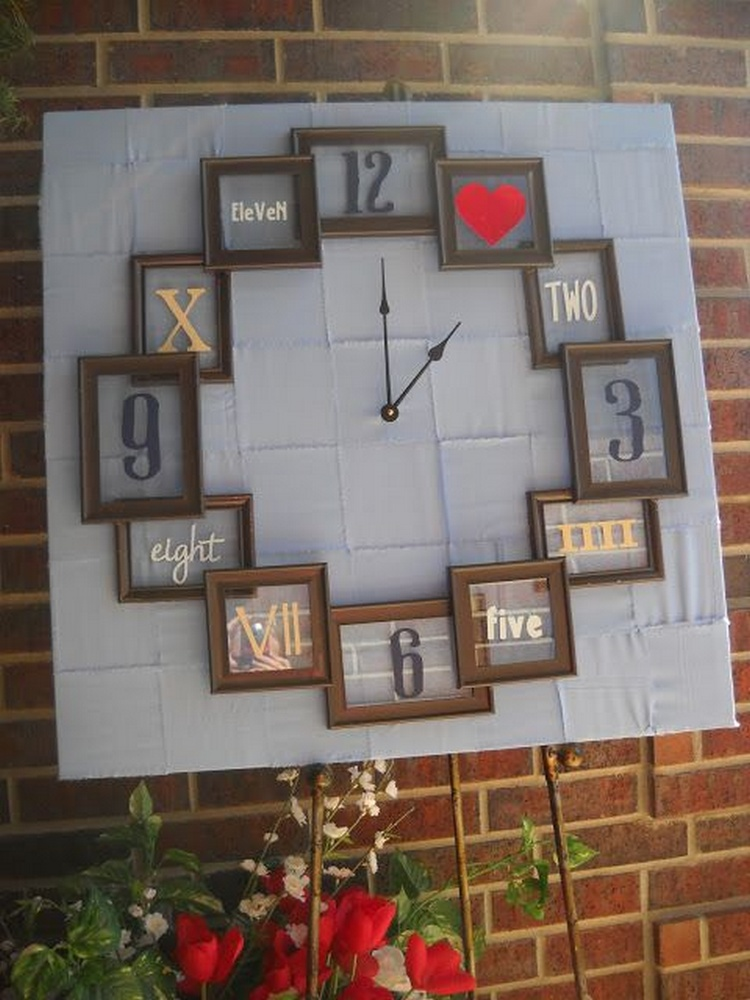 20 ingenious diy clock project ideas recycled things for Clock ideas