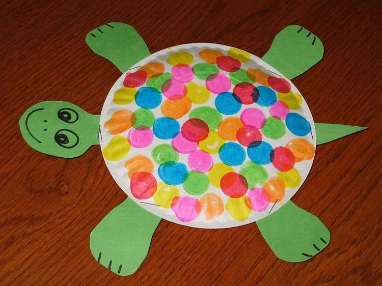 Paper Plate Turtle