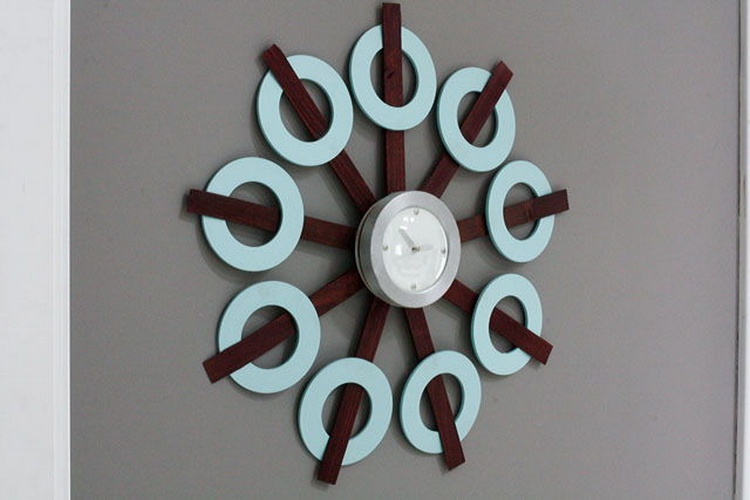 ReStyled Goodwill Clock
