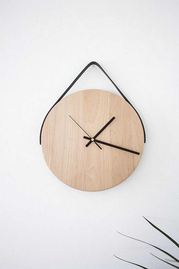 20 ingenious diy clock project ideas recycled things for Diy clock