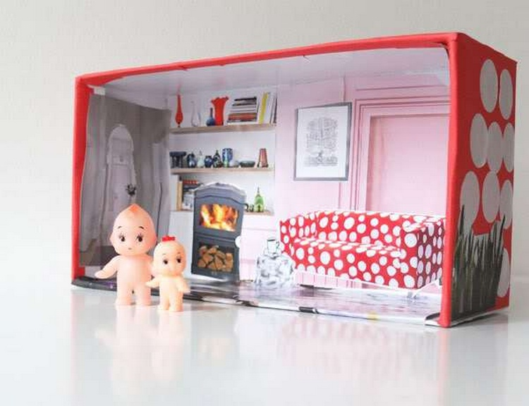 Shoe Box Dollhouse